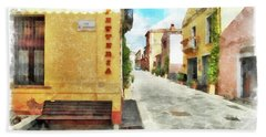 Arzachena Garibaldi Street Beach Sheet