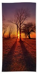 Beach Sheet featuring the photograph As Sure As The Sun Will Rise by Phil Koch