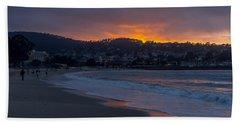 As The Sun Sets Beach Towel