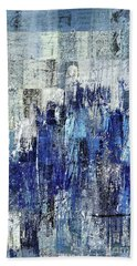 Beach Towel featuring the digital art Ascension - C03xt-160at2c by Variance Collections