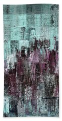 Beach Towel featuring the digital art Ascension - C03xt-161at2c by Variance Collections