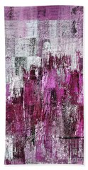 Beach Towel featuring the digital art Ascension - C03xt-165at2c by Variance Collections