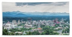 Asheville Afternoon Cropped Beach Towel