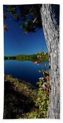Ashley Reservoir Beach Towel by Jim Gillen