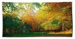 Ashridge Autumn Beach Towel by Anne Kotan