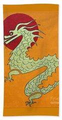 Asian Dragon Icon No. 1 Beach Towel