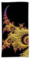 Asian Gold Beach Towel