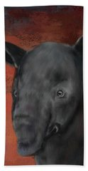 Asian Tapir Beach Towel