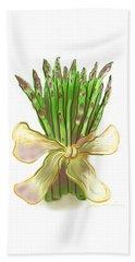 Asparagus Bouquet Beach Sheet