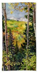 Aspen Afternoon Beach Towel