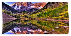 Aspen Wonder Beach Towel by Scott Mahon