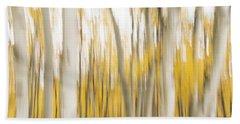 Beach Towel featuring the photograph Aspens 2 by Alex Lapidus