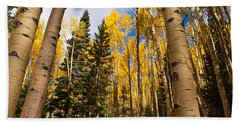 Aspens In Santa Fe 3 Beach Towel