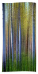Aspens In Springtime Beach Towel