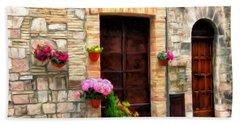 Assisi Doorways Beach Sheet