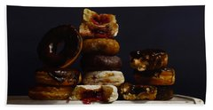 Assorted Donuts Beach Towel