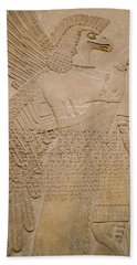 Assyrian Guardian Beach Towel