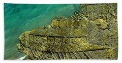 Assyrian Warship Beach Towel