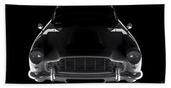 Aston Martin Db5 - Front View Beach Sheet