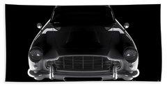 Aston Martin Db5 - Front View Beach Towel