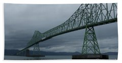 Astoria Bridge Beach Towel