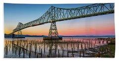 Astoria Megler Bridge Beach Sheet