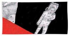 Astronaut X37b Beach Sheet by Dan Twyman
