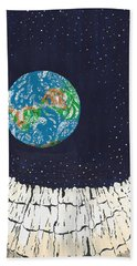 Astronaut's Point Of View Beach Towel