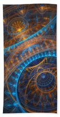 Astronomical Clock Beach Sheet by Martin Capek