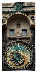 Astronomical Clock Beach Sheet
