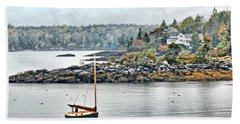 At Anchor - Maine Beach Towel