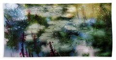 At Claude Monet's Water Garden 2 Beach Sheet