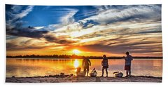 At Days End Beach Towel