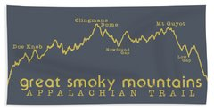 At Elevation Profile Gsm Mustard Beach Towel by Heather Applegate