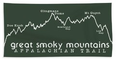 At Elevation Profile Gsm White Beach Towel by Heather Applegate