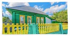 At Home In Belarus Beach Sheet