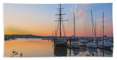 At Rest At Dawn Beach Towel