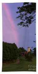 At The End Of The Rainbow Beach Towel