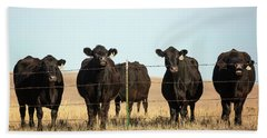 At The Fence Beach Towel