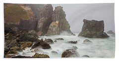At The Point Beach Towel by Mark Alder