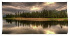 At The River Beach Towel