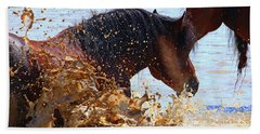 At The Watering Hole Beach Towel