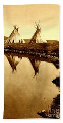 At The Waters Edge 1910 Beach Towel