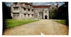 Athelhamptom Manor House Beach Towel