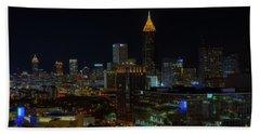 Atlanta Nights Beach Sheet
