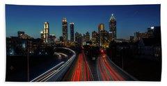 Atlanta Skyline 1 Beach Sheet
