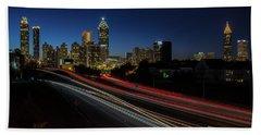 Atlanta Skyline 2 Beach Towel