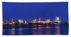 Atlantic City Skyline. Beach Towel