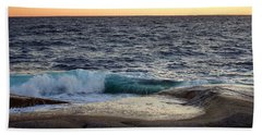 Atlantic Ocean, Nova Scotia Beach Sheet by Heather Vopni