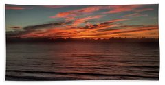 Atlantic Sunrise Beach Towel